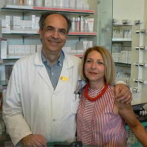 Salvatore e Laura Pellegrino